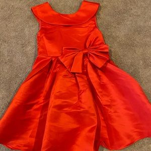 NWT! Girls red holiday dress size 6X